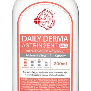 Daily Derma Eraser Toner: Fresh Peach