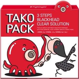 Tako Pack 3steps Black-head Clear Solution