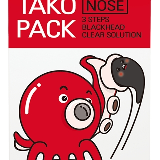 Tako Pack Nose 3steps Black-head Clear Solution